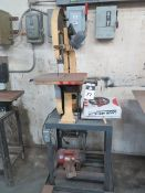"Davis & Wells 13 ½"" Vertical Band Saw w/ 15 ½"" x 15 ½"" Table (SOLD AS-IS - NO WARRANTY)"