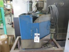 """Amada TEG-160E Punch and Die Grinder s/n HE1911 w/ 6"""" 3-Jaw Chuck, Coolant (SOLD AS-IS - NO"""