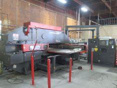 Amada VIPROS 357 mdl. VP305072 30-Ton CNC Turret Press s/n AVP57030 w/ Amadan-O4P-C, SOLD AS IS