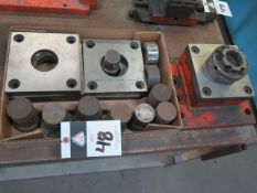Large Diameter Punch Attachment w/ Dies (SOLD AS-IS - NO WARRANTY)