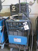 Miller Syncrowave 250 CC-AC/DC Arc Welding Power Source s/n KG198731 w/ Miller Cooler (SOLD AS-