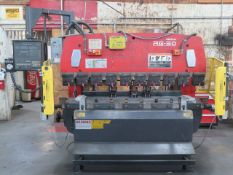 "Amada RG-50 50 Ton x 78"" CNC Press Brake s/n 509520 w/ Amada NC9-EX II Controls, 78.8"" Bed Length,"
