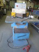 "Boschert LB12 9"" x 9"" Hydraulic Corner Notcher s/n 2672 w/ Fence System (SOLD AS-IS - NO WARRANTY)"
