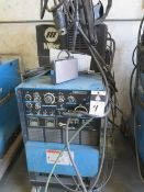 Miller Syncrowave 250 CC-AC/DC Arc Welding Power Source s/n KH417901 w/ Miller Cooler (SOLD AS-