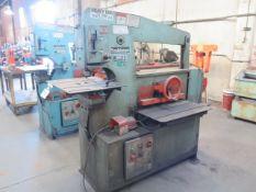 """Scotchman 6509-24M 65-Ton Hydraulic Iron Worker s/n 6402FF699 w/ 1 1/16"""" Thru 3/4"""" Punch Cap, 1"""" x"""