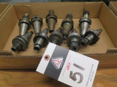 BT-35 Taper Tooling (10) (SOLD AS-IS - NO WARRANTY)