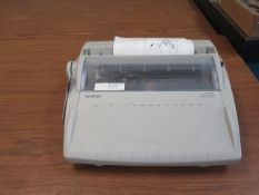Brother Typewriter (SOLD AS-IS - NO WARRANTY)