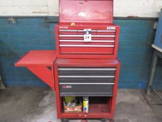 Craftsman Roll-A-Way Tool Box w/ Hand Tools (SOLD AS-IS - NO WARRANTY)