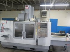 2007 Haas Super VF-3SS APC 2-Pallet 4-Axis CNC VMC s/n 1059644 w/ Haas, SOLD AS IS