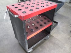 Huot 35-Taper Tooling Cart (SOLD AS-IS - NO WARRANTY)