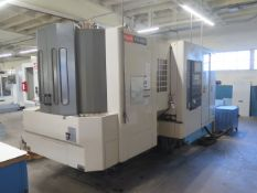2001 Mazak FH-4000 2-Pallet 4-Axis CNC Horizontal Machining Center s/n 150419, SOLD AS IS