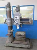 """Diamond mdl. 800 """"Hole Master"""" 8"""" Column x 20"""" Radial Arm Drill s/n 13322 w/ 88-1500 RPM, SOLD AS IS"""