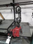 Milwaukee Portable Band Saw w/ Band Saw Table, Chain Vise (SOLD AS-IS - NO WARRANTY)