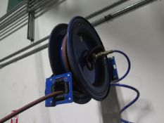 Electric and Air Hose Reels (4) (SOLD AS-IS - NO WARRANTY)