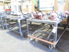 Rolling Steel Tables (2) (SOLD AS-IS - NO WARRANTY)