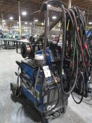 Miller PipeWorx 400 Arc welding Power Source s/n MD100033G w/ Miller PipeWorx Dual Feed Wire