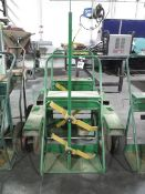 Saf-T-Cart Welding Torch Carts (2) (SOLD AS-IS - NO WARRANTY)