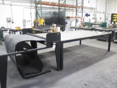 """Duro Dyne mdl. LS """"Liner Sizer"""" 60"""" Cutter w/ 5' x 10' Measuring Table, SOLD AS IS"""