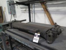 "Pexto 36"" Bender w/ Roll Table (SOLD AS-IS - NO WARRANTY)"