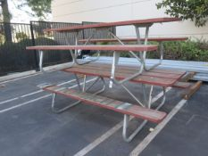 Picnic Tables (2) (SOLD AS-IS - NO WARRANTY)