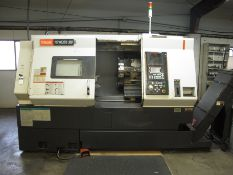 2005 MAZAK NEXUS QTN-350 CNC TURNING CENTER, 2 AXIS, TAIL STOCK (SOLD AS-IS - NO WARRANTY)