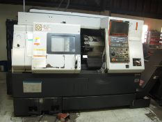 2007 MAZAK NEXUS QTN-250-II CNC TURNING CENTER, 2 AXIS, TAIL STOCK (SOLD AS-IS - NO WARRANTY)