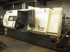 .2007 MAZAK NEXUS QTN-400-II CNC TURNING CENTER, 2 AXIS, TAIL STOCK, (SOLD AS-IS - NO WARRANTY)