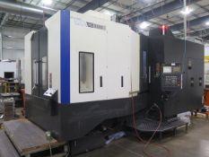 2011 Hyundai WIA HS6300 2-Pallet 4-Axis CNC Horizontal Machining Center s/n G3646-0251, SOLD AS IS