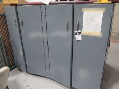 Heavy Duty Storage Cabinet (SOLD AS-IS - NO WARRANTY)