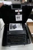 Royal Epch Type Writer (SOLD AS-IS - NO WARRANTY)