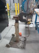 """Pneumatic Hardware Insertion Press w/ 9"""" Throat, Stand (SOLD AS-IS - NO WARRANTY)"""