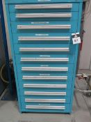 Equipto 12-Drawer Tooling Cabinet (SOLD AS-IS - NO WARRANTY)
