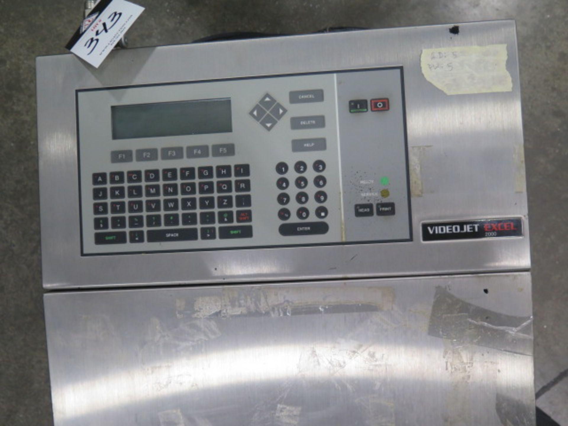 VideoJet EXCEL-2000 Ink Jet Printing System (SOLD AS-IS - NO WARRANTY) - Image 3 of 4