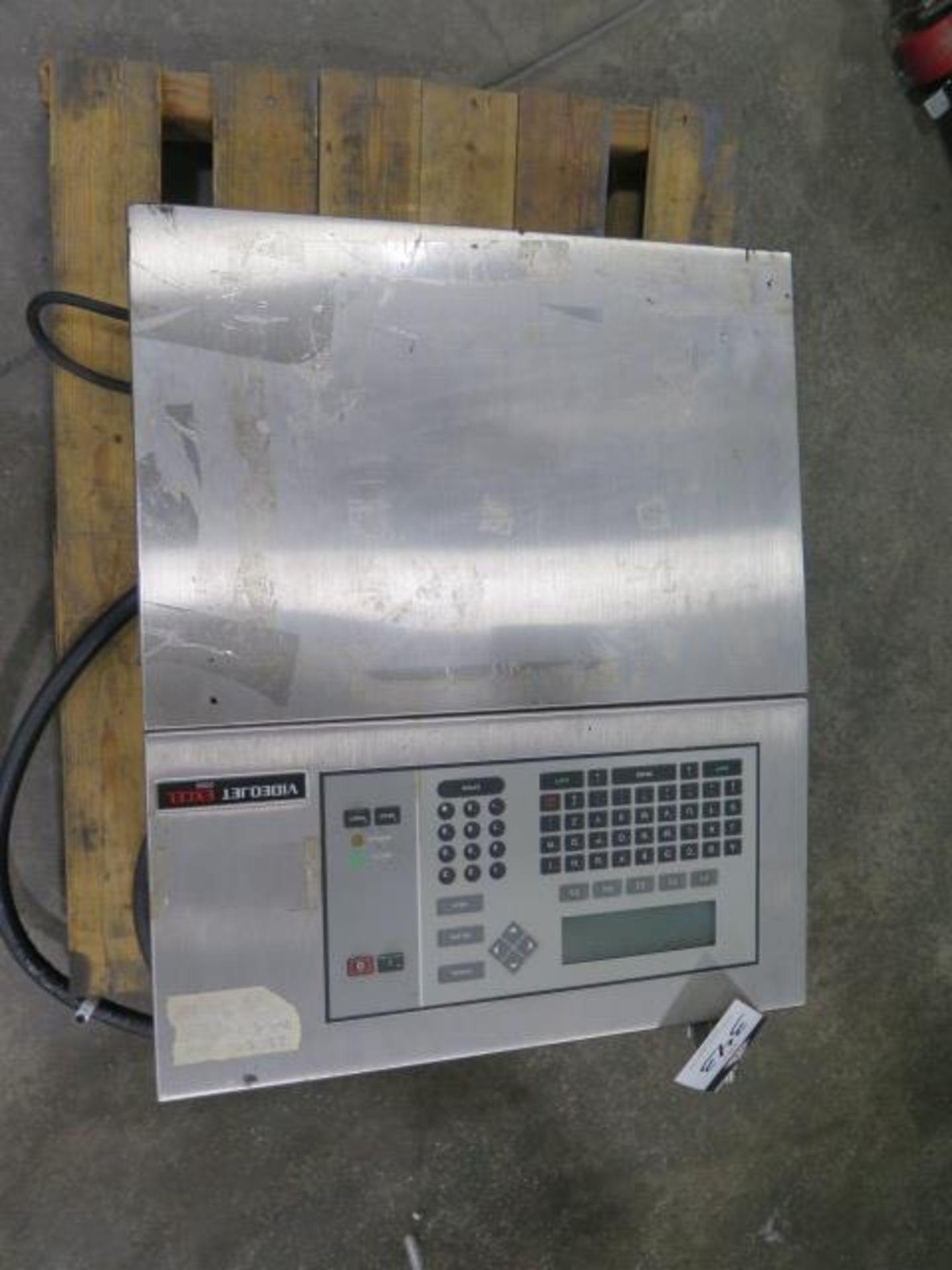VideoJet EXCEL-2000 Ink Jet Printing System (SOLD AS-IS - NO WARRANTY)