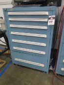 Vidmar 7-Drawer Tooling Cabinet (SOLD AS-IS - NO WARRANTY)