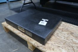 Granite Plate (SOLD AS-IS - NO WARRANTY)