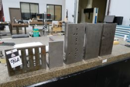 Angle Plates (5) (SOLD AS-IS - NO WARRANTY)