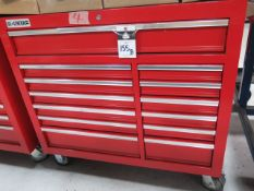 US General Roll-A-Way Tool Box (SOLD AS-IS - NO WARRANTY)