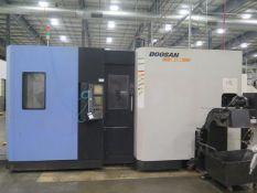 2008 Doosan HP5100 2-Pallet 4-Axis CNC Horizontal Machining Center s/n HP510161, SOLD AS IS