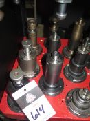 CAT-50 Taper Shell Mill Holders (9) (SOLD AS-IS - NO WARRANTY)