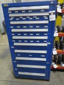 Vidmar 10-Drawer Tooling Cabinet (SOLD AS-IS - NO WARRANTY)