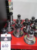CAT-50 Taper ER32 Collet Chucks (9) (SOLD AS-IS - NO WARRANTY)