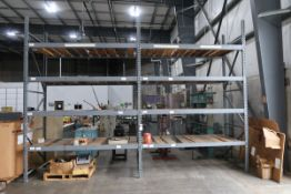 Pallet Rack 3 sections (SOLD AS-IS - NO WARRANTY)
