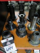 CAT-50 Taper Tooling (9) (SOLD AS-IS - NO WARRANTY)