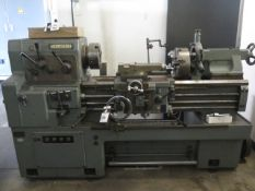 """Mori Seiki MS-850 17"""" x 36"""" Geared Gap Bed Lathe s/n 7171 w/ 32-1800 RPM, Inch Threading, SOLD AS IS"""
