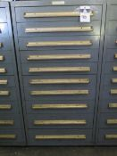 Equipto 10-Drawer Tooling Cabinet w/Endmills, Reamers and Misc (SOLD AS-IS - NO WARRANTY)