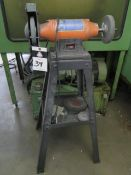 Central Machinery Pedestal Grinder (SOLD AS-IS - NO WARRANTY)