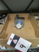 Angle Fixture Plate w/ Magnetic Dial Indicator (SOLD AS-IS - NO WARRANTY)