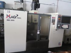 2007 (Remanufactured) MAG Fadal VMC3016HT CNC Vertical Machining Center s/n R10079603168 SOLD AS IS