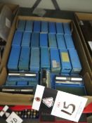 Deltronic Gage Pins (SOLD AS-IS - NO WARRANTY)